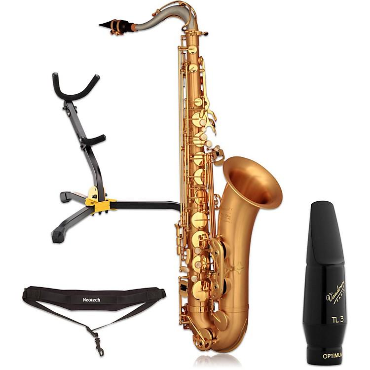 P. MauriatLEBRAVO200T Intermediate Matte Finish Tenor Saxophone Kit