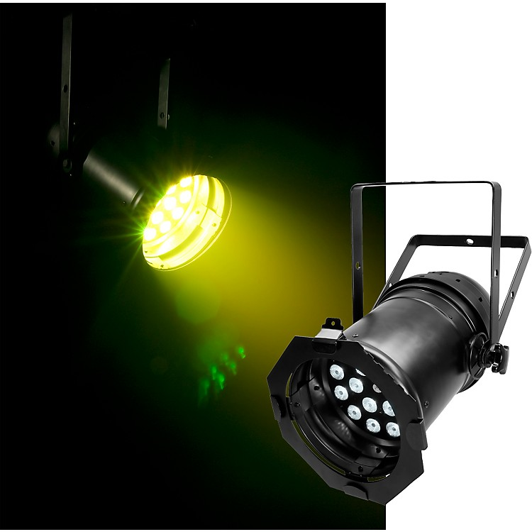 Chauvet LED PAR 64 Tri LED Par Can Black