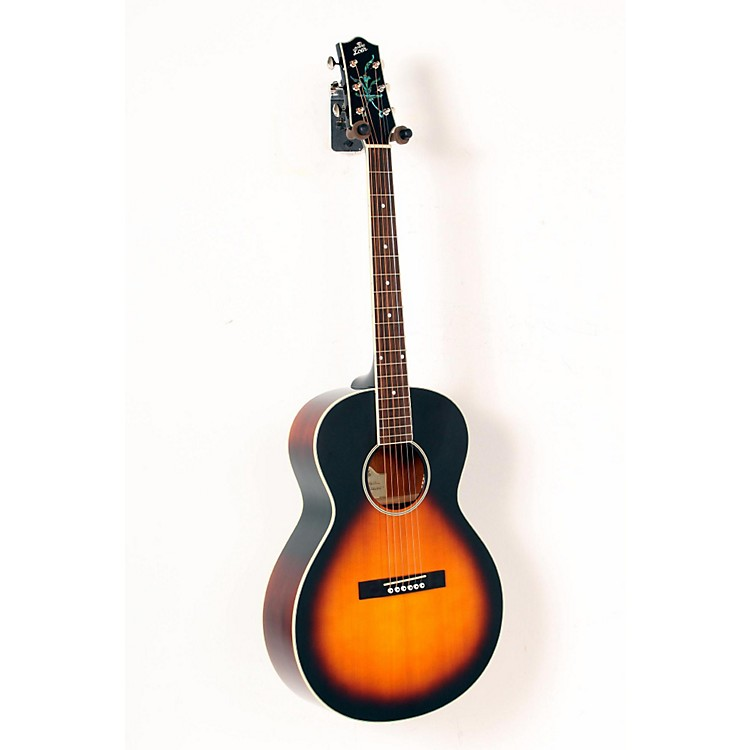The Loar LH-200 Small-Body Acoustic Guitar Vintage Sunburst 888365219776