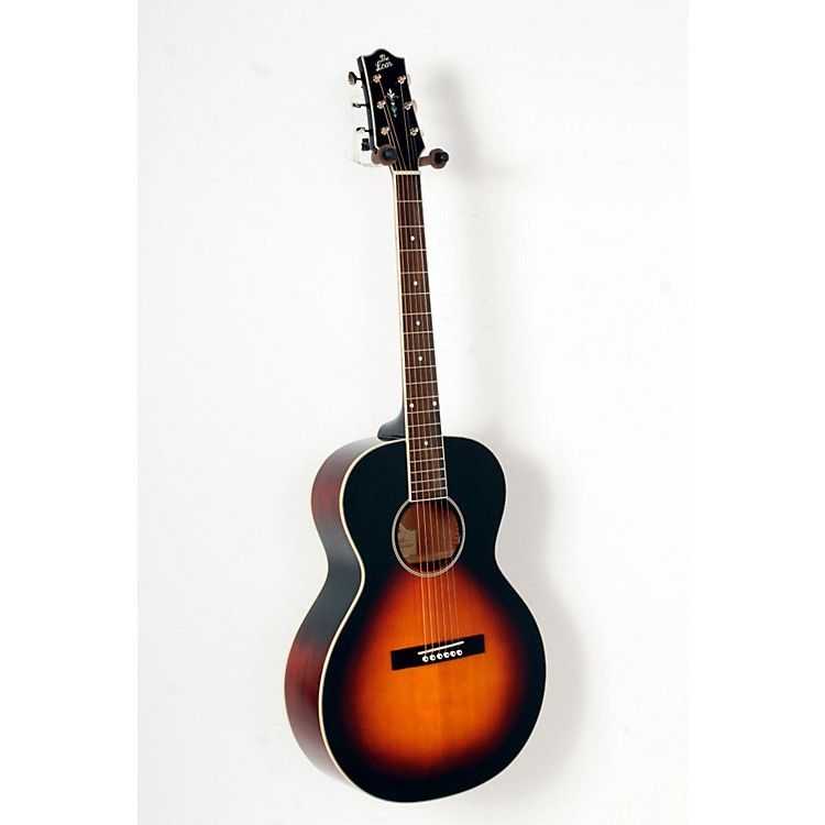 The Loar LH-250 Small Body Acoustic Guitar Sunburst 888365798400