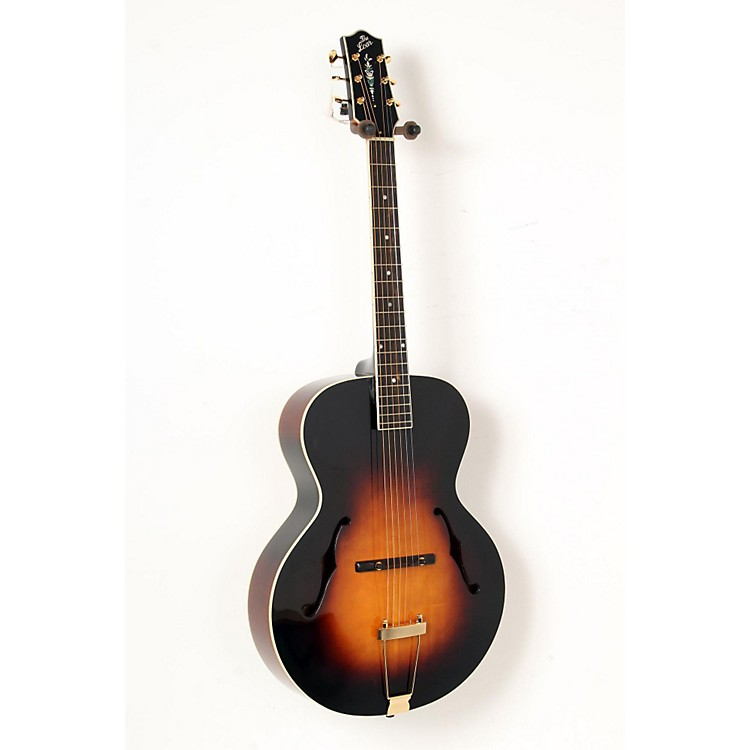The LoarLH-700 Archtop Acoustic GuitarVintage Sunburst888365851709