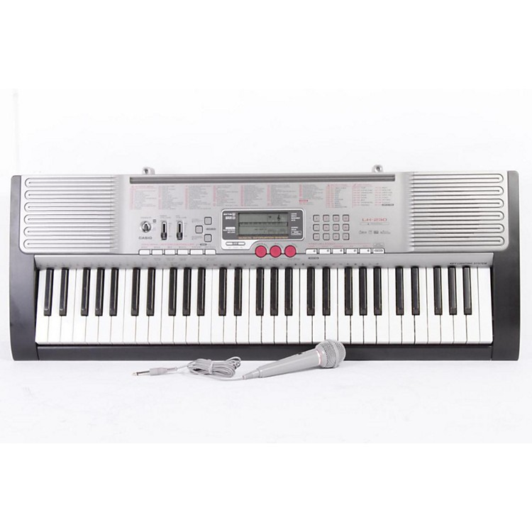 Casio LK-230 61-Key Lighted-Note Keyboard Regular 886830464867