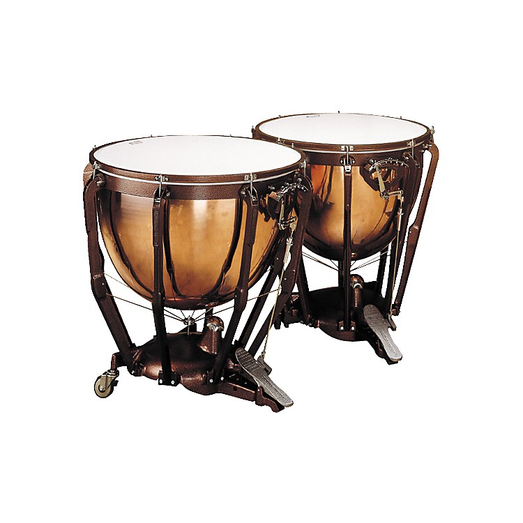 Ludwig LKP502PG Prof Polished Copper Timp Set