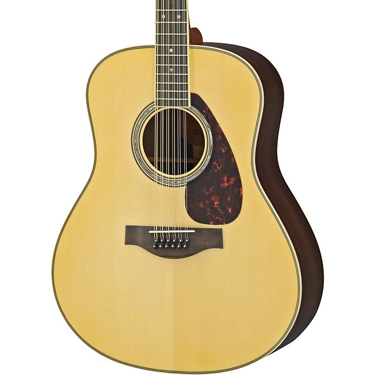 Yamaha LL16R-12 L Series 12-String Solid Rosewood/Spruce Dreadnought Acoustic-Electric Guitar