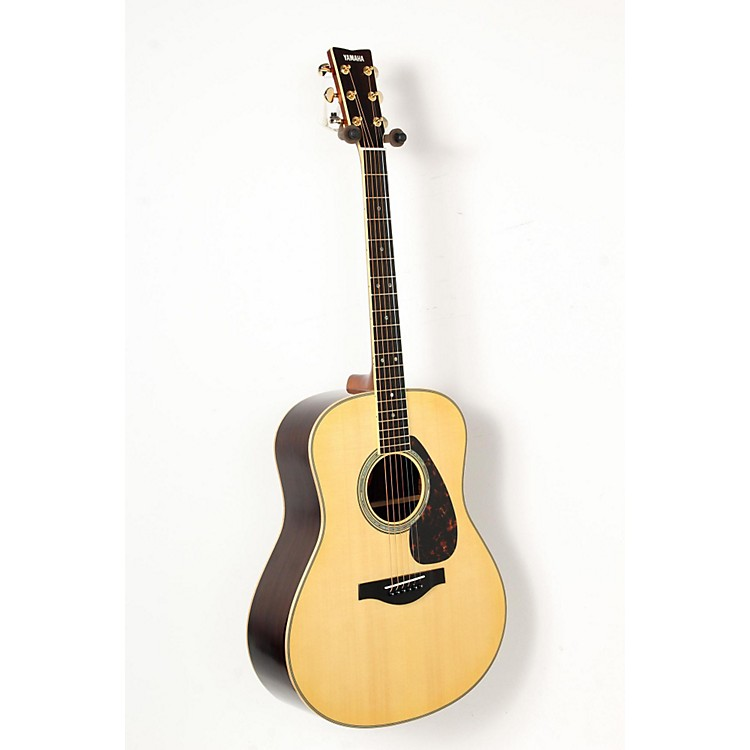 Yamaha LL16R L Series Solid Rosewood/Spruce Dreadnought Acoustic-Electric Guitar Natural 888365851143