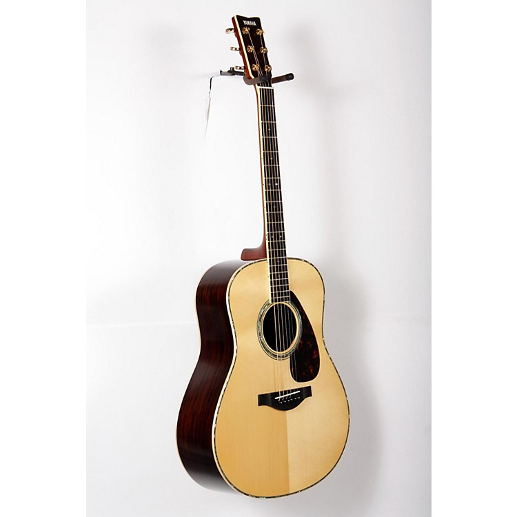 Yamaha LL16RD L Series Solid Rosewood/Spruce Dreadnought Acoustic-Electric Guitar Natural 888365847467