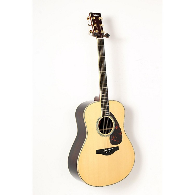 Yamaha LL16RD L Series Solid Rosewood/Spruce Dreadnought Acoustic-Electric Guitar Natural 888365850993