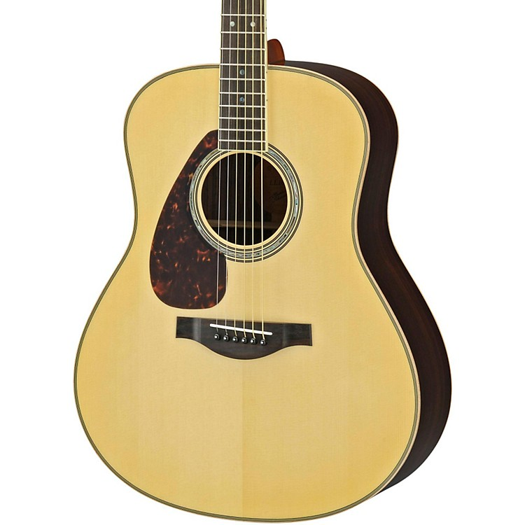 YamahaLL16RL L Series Solid Rosewood/Spruce Dreadnought Left-Handed Acoustic-Electric Guitar