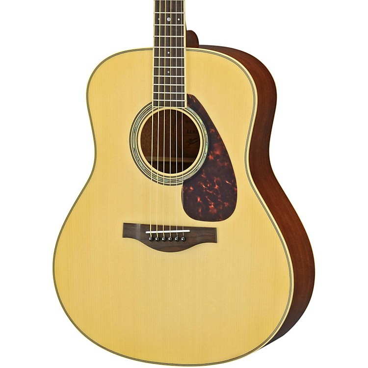 Yamaha LL6M L Series Mahogany/Spruce Dreadnought Acoustic-Electric Guitar