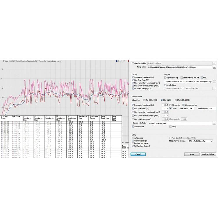 NuGen AudioLMB Batch ProcessorSoftware Download
