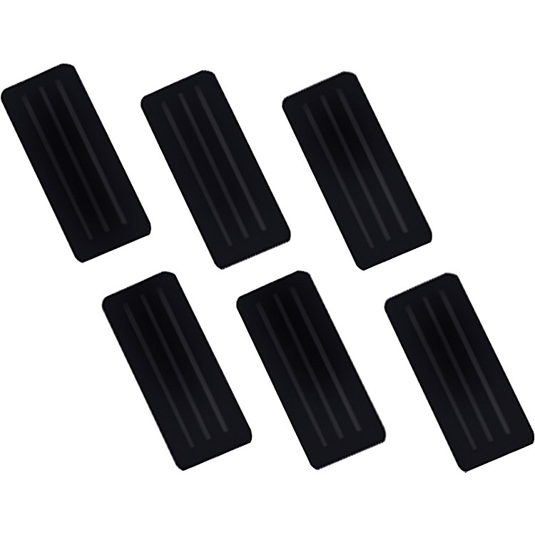 LP LP921 Conga Standard Rubber Grips 3-Pack Black