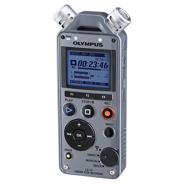 OlympusLS-12 Linear PCM RecorderGunmetal Grey