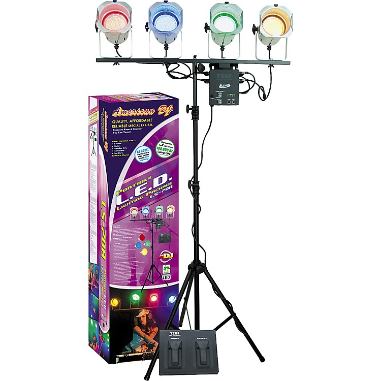 American DJ LS-70 L.E.D. Portable Lighting Package
