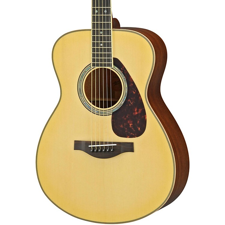 YamahaLS16M L Series Solid Mahogany/Spruce Concert Acoustic-Electric Guitar
