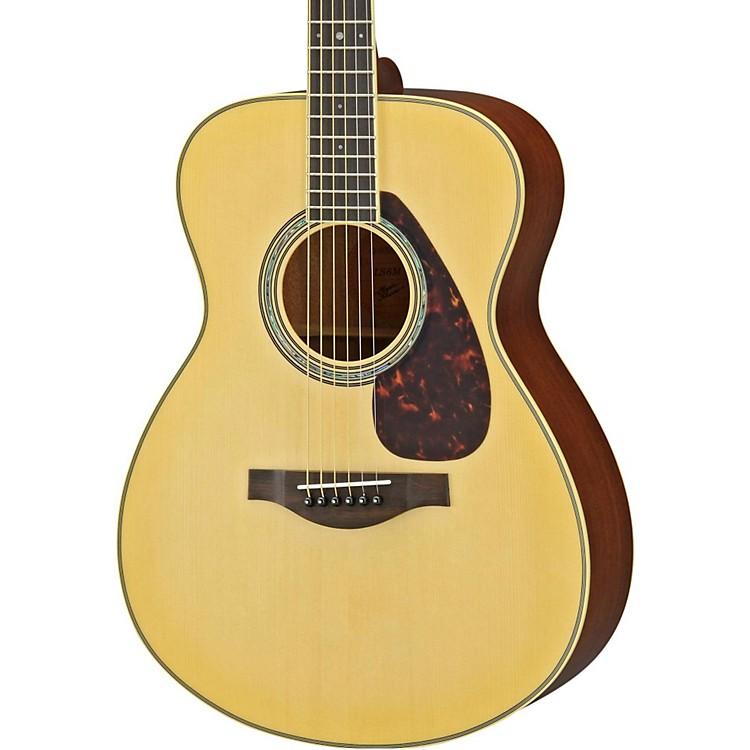 Yamaha ls6m l series mahogany spruce concert acoustic for Yamaha l series guitars