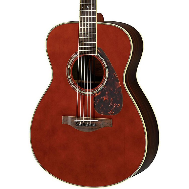 Yamaha LS6R L Series Rosewood/Spruce Concert Acoustic-Electric Guitar Dark Tinted Natural