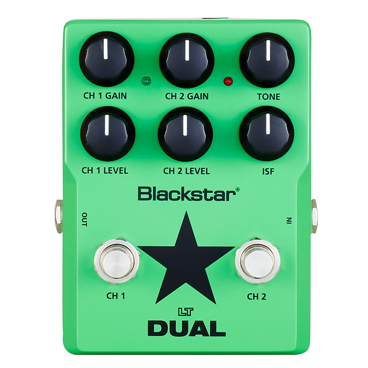 Blackstar LT Dual 2 Channel Distortion Guitar Effects Pedal