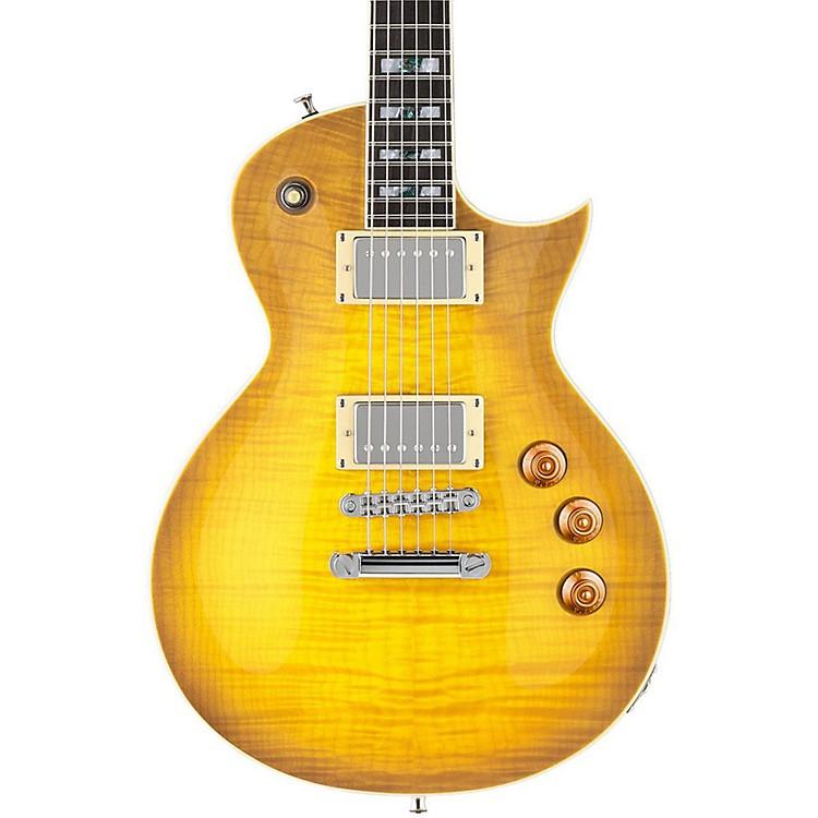 ESPLTD AS-1 Alex Skolnick Electric GuitarLemon BurstFlame Maple
