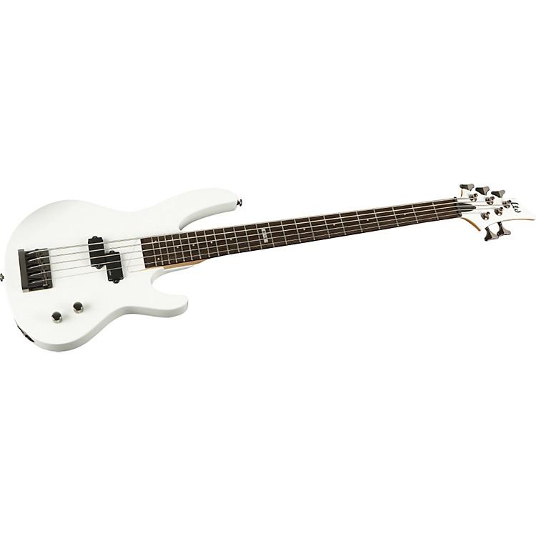 ESPLTD B-15 5-String Electric Bass GuitarSnow white
