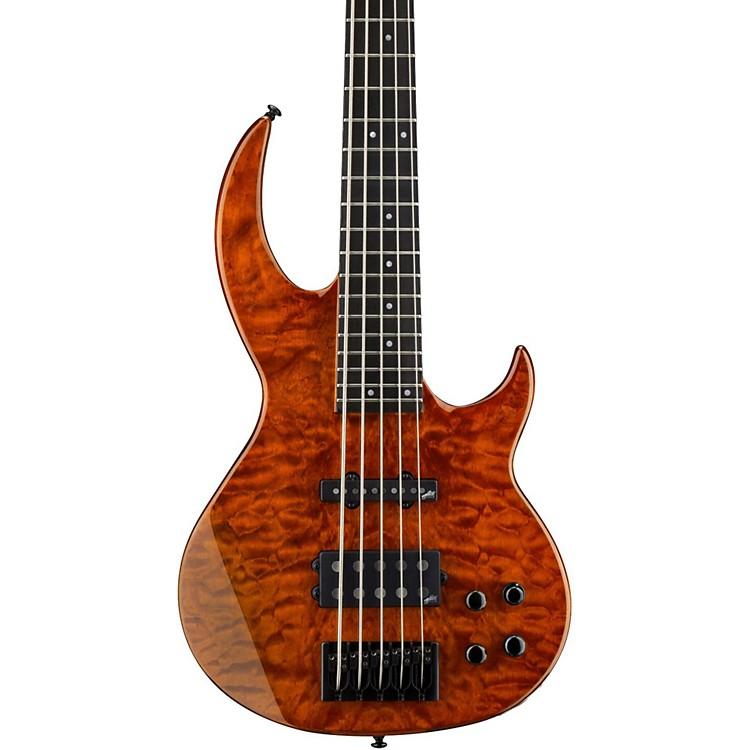 ESPLTD BB-1005/QM Electric GuitarBurnt Orange