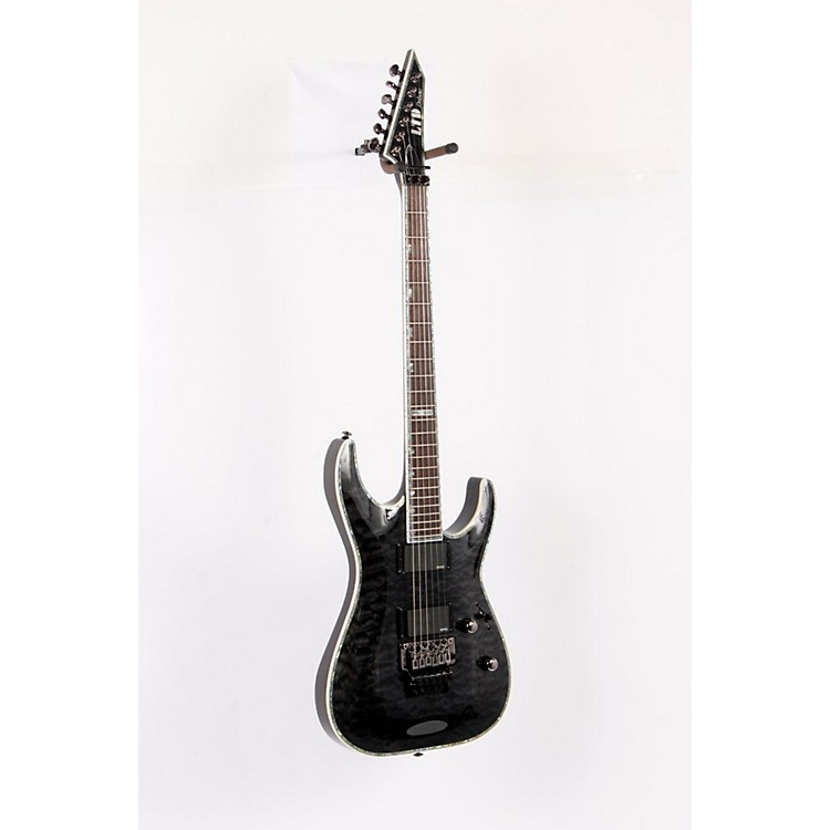 ESP LTD Deluxe MH-1000 Electric Guitar with EMGs See-Thru Black 888365208299