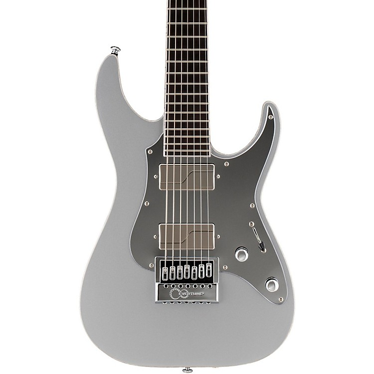 ESPLTD Ken Susi KS-M-7 Evertune 7-String Electric GuitarMetallic Silver