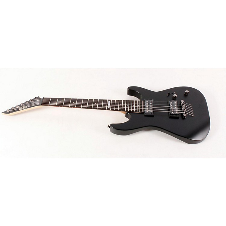 ESP LTD M-17 7-String Electric Guitar Satin Black 888365021836