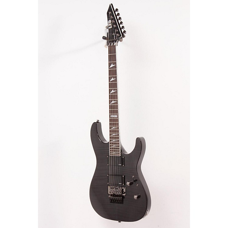 ESP LTD M-300FM Electric Guitar See-Thru Black 888365010687
