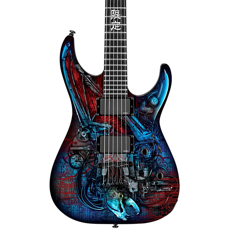 ESP LTD M Vampire Bio Tech Electric Guitar Graphic