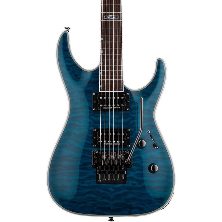 ESPLTD MH-401QM Electric GuitarSee-Thru Blue