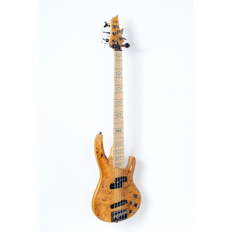 ESP LTD RB-1005 5 String Electric Bass Guitar Honey Natural 888365910970