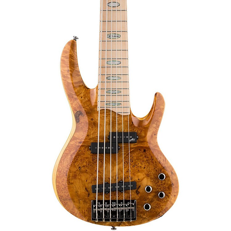 ESP LTD RB-1006 6 String Electric Bass Guitar Honey Natural