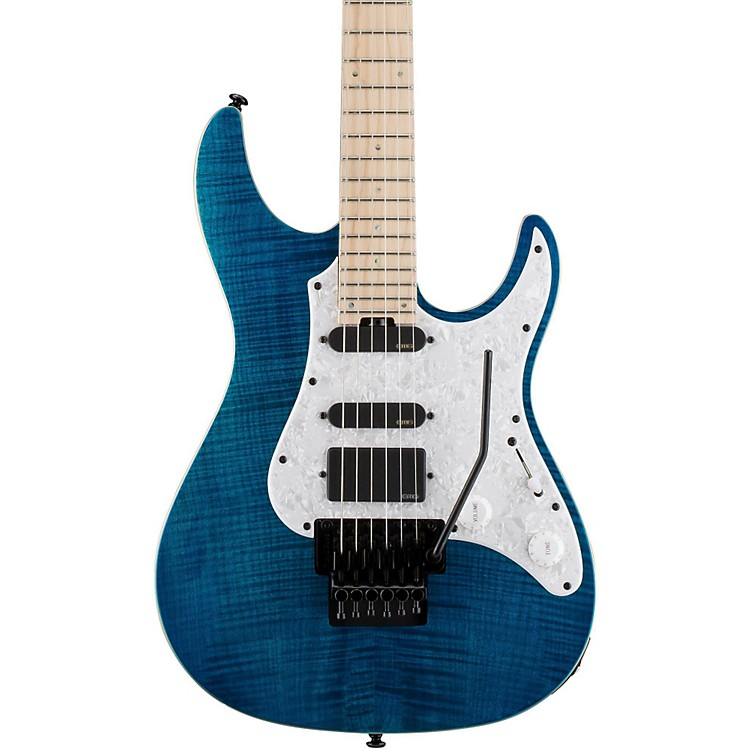ESPLTD SN-1000FR/FM Electric GuitarAqua Marine