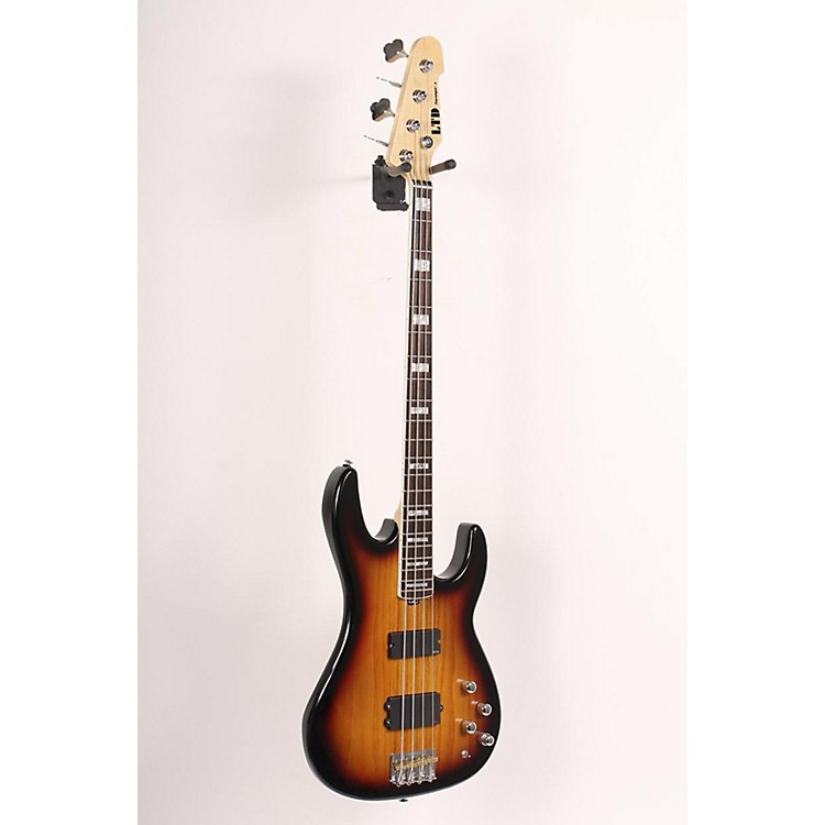 ESP LTD Surveyor-4 Electric Bass Guitar 3-Tone Burst 886830843730