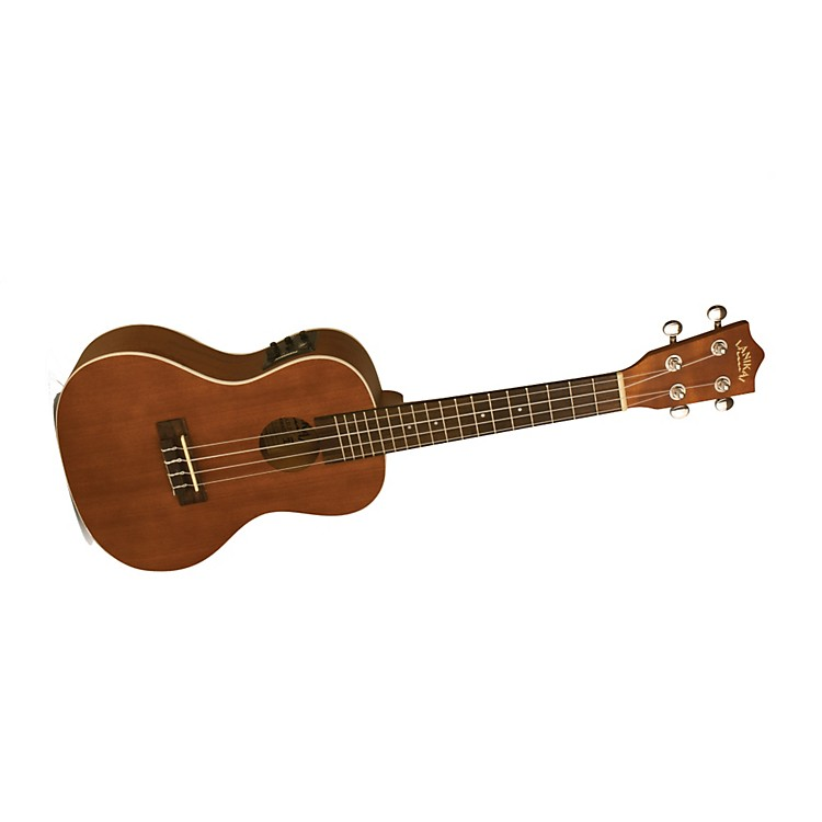 Lanikai LU Series LU-21CEK Concert Acoustic-Electric Ukulele with Fishman Kula Electronics Natural