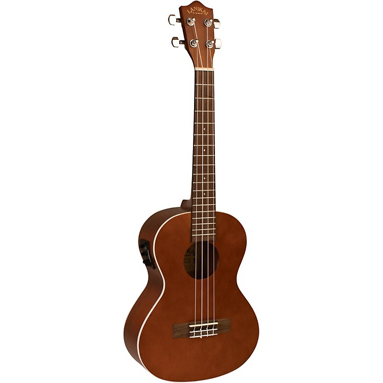 Lanikai LU Series LU-21TEK Tenor Acoustic-Electric Ukulele with Fishman Kula Electronics