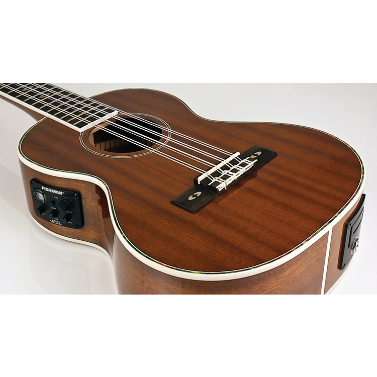 LanikaiLU Series LU-8EK 8-String Tenor Acoustic-Electric Ukulele with Fishman Kula Electronics