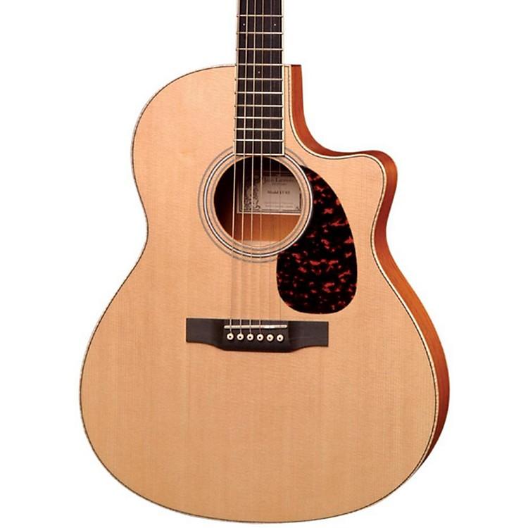 LarriveeLV-03E Mahogany Standard Series Cutaway Acoustic-Electric GuitarNaturalMahogany