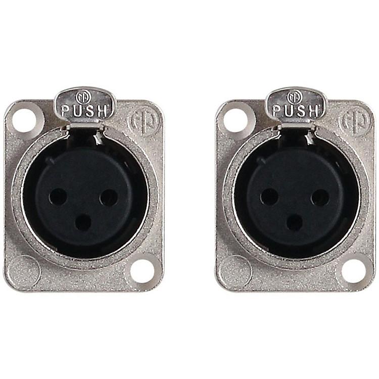 Live WireLWNC3FDL Neutrik NC3FDL1 XLR(F) (PR) Chassis Mnt Connector