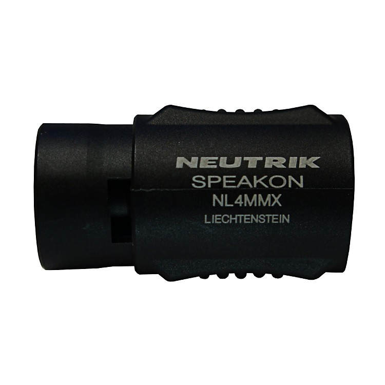 Live Wire LWNL4MMX Neutrik NL4MMX Speakon Coupler (PR)