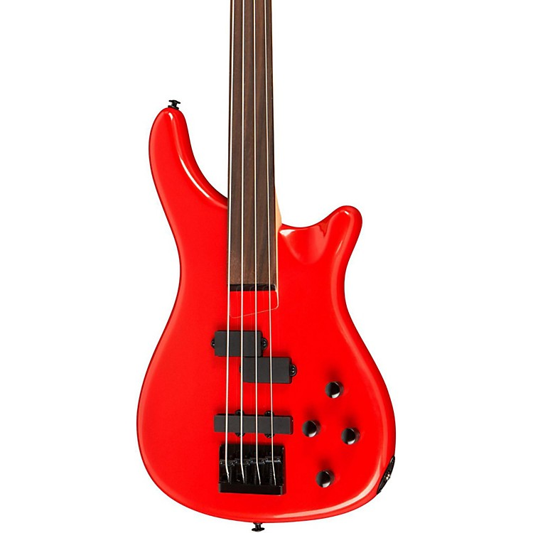 RogueLX200BF Fretless Series III Electric Bass GuitarCandy Apple Red