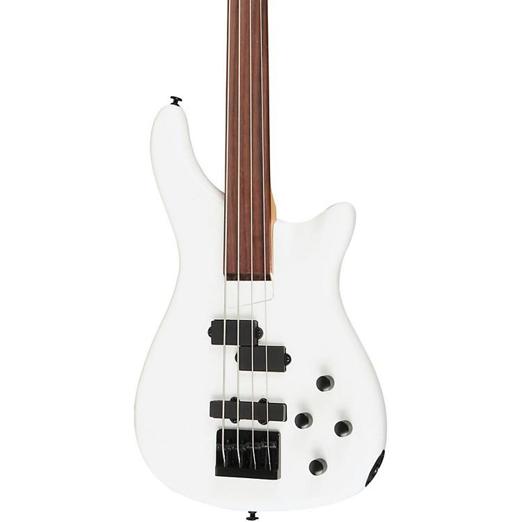 RogueLX200BF Fretless Series III Electric Bass GuitarPearl White