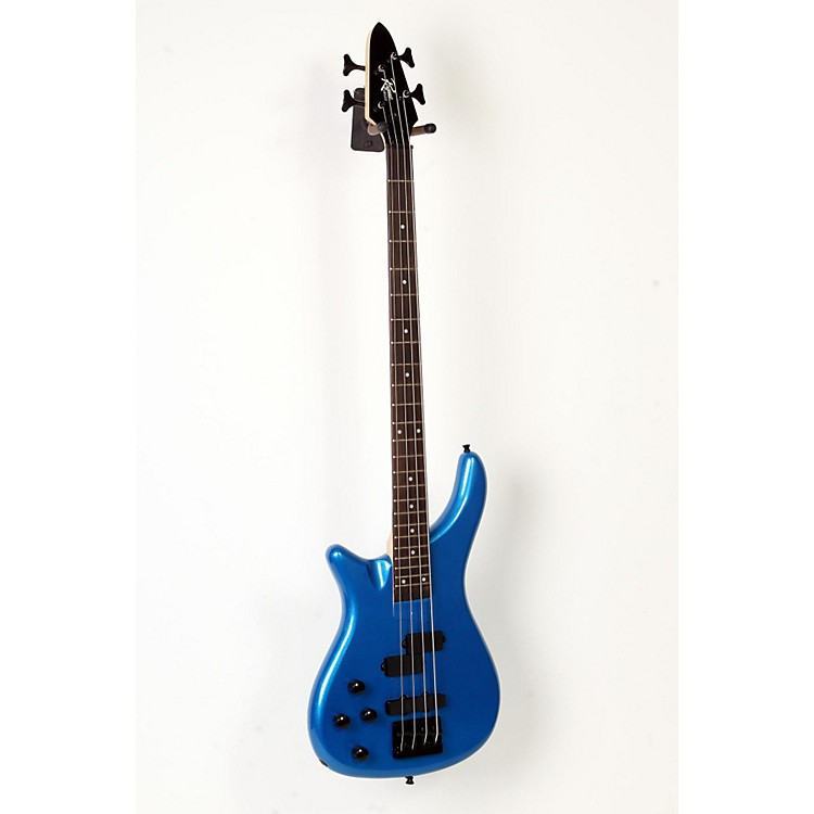 Rogue LX200BL Left-Handed Series III Electric Bass Guitar Metallic Blue 888365901107