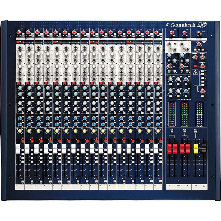 Soundcraft LX7ii 16-Channel Mixer