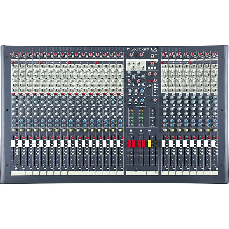 Soundcraft LX7ii 24-Channel Mixer