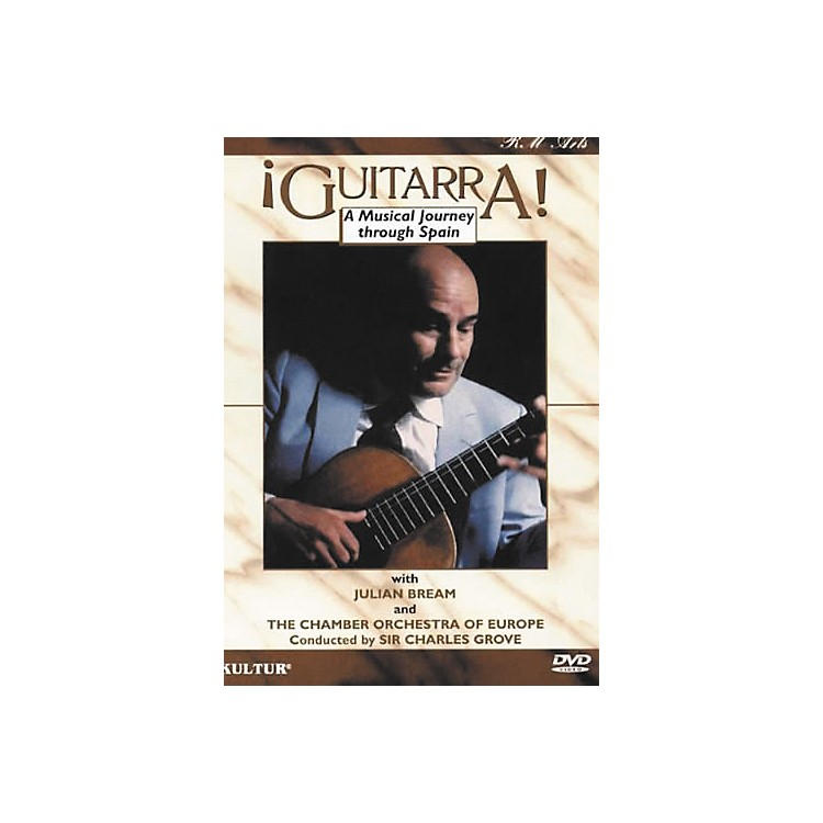Kultur La Guitarra: Classical Music Performance DVD