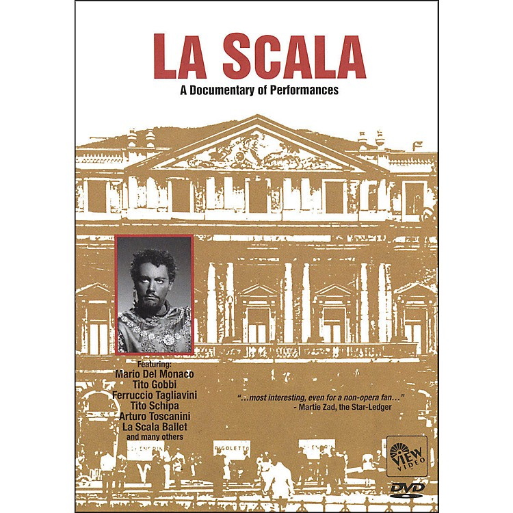 Hal Leonard La Scala: A Documentary Of Performances DVD