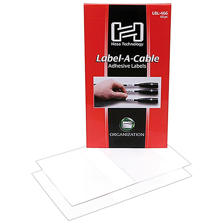 HosaLabel-A-Cable (60 Pack)