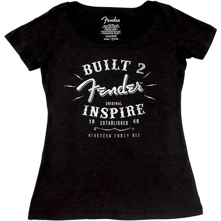 FenderLadies Inspire T-ShirtLargeBlack