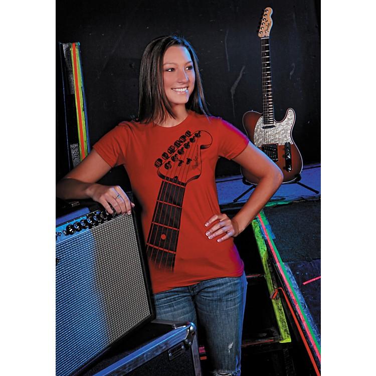 FenderLadies Strat Neck Tee Shirt